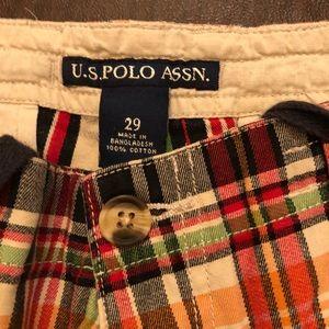 U.S. Polo Assn. Shorts - Plaid shorts. Classic polo